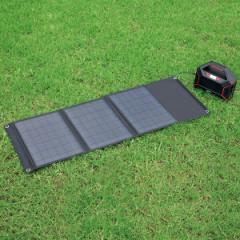 ソーラーパネル充電器セット ポータブル電源 大容量42,000mAh 蓄電池 充電池 防塵 防水 シガーソケット USB ACコンセント DC出力 キャン