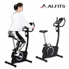 フィットネスバイク エアロバイク クロスバイク 家庭用 トレーニング ダイエット 有酸素運動 巣ごもり 運動不足解消 静音 アルフィッツ