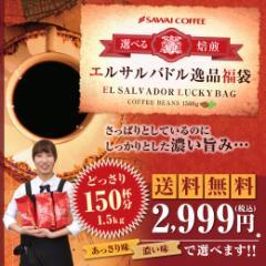 【澤井珈琲】送料無料!!選べる焙煎エルサルバドル逸品福袋