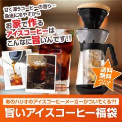 【澤井珈琲】送料無料 おいしくてカンタン本格アイスコーヒーセットハリオ V60アイスコーヒーメーカー付き福袋 ※冷凍便不可