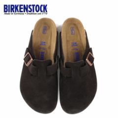 ビルケンシュトック BIRKENSTOCK ボストン レディース メンズ BOSTON BS 0660461 幅広 サンダル スエード モカ ブラウン 国内正規品
