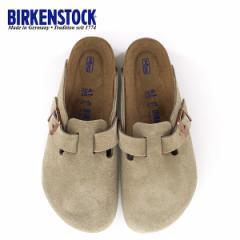 ビルケンシュトック BIRKENSTOCK ボストン レディース メンズ BOSTON BS 0560771 幅広 サンダル スエード トープ ベージュ 国内正規品