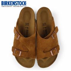 【還元祭クーポン対象】ビルケンシュトック BIRKENSTOCK チューリッヒ ZURICH 0050403 メンズ シューズ 靴 ブラウン スエード レザー 本