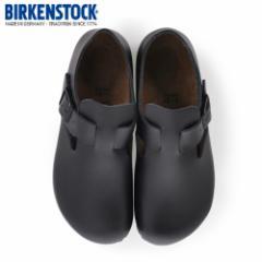【還元祭クーポン対象】ビルケンシュトック BIRKENSTOCK ロンドン LONDON 1004303 レディース シューズ 靴 ブラック レザー 本革