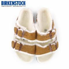 【還元祭クーポン対象】ビルケンシュトック BIRKENSTOCK アリゾナ ファー ボア ARIZONA Fell Fur 1001135 レディース サンダル 靴 ブラウ