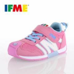 子供靴 スニーカー IFME KIDS イフミー キッズ シューズ 30-5710 ピンク スニーカー 通園 通学 定番