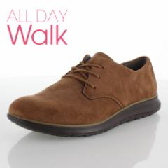 【還元祭クーポン対象】ALL DAY Walk オールデイウォーク 079 靴 ALD790 シューズ スニーカー 撥水加工 1E ブラウン キャメル レディース