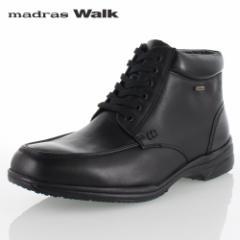 madras Walk マドラスウォーク SPMW5478 BLA ゴアテックス ブーツ メンズ ビジネスシューズ 防水 防滑 革靴 4E