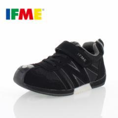 子供靴 スニーカー IFME KIDS イフミー キッズ ジュニア シューズ 30-5711 ブラック スニーカー 通園 通学 スクール 黒