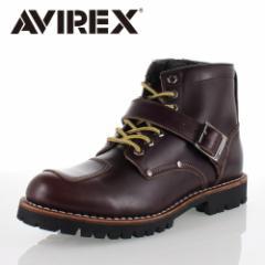 アビレックス AVIREX TIGER AV2931 RUSSET ライダーブーツ バイカーブーツ ブーツ メンズ
