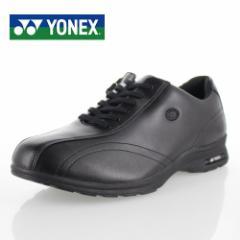 ヨネックス パワークッション メンズ ウォーキングシューズ YONEX SHW-MC30W BLACK スニーカー ウォーキング 軽量 黒 男性用 靴 4.5E