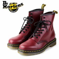 【還元祭クーポン対象】ドクターマーチン Dr.Martens 1460 8EYE BOOT CHERRY RED SMOOTH 10072600 8ホール レディース メンズ