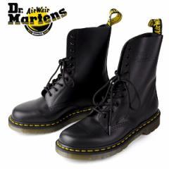 【還元祭クーポン対象】ドクターマーチン Dr.Martens 1490 10EYE BOOT BLACK SMOOTH 10092001 10ホール レディース メンズ