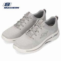 スケッチャーズ レディース スニーカー GO WALK ARCH FIT-MOON SHADOWS 124485-GRY グレー SKECHERS 靴