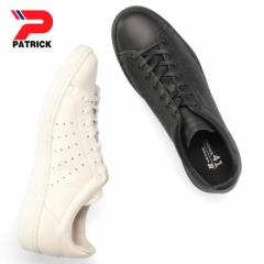 【BIGSALEクーポン対象】 パトリック パンチ 14 PATRICK PUNCH 14 14100 14101 ホワイト ブラック メンズ レディース スニーカー 本革 日
