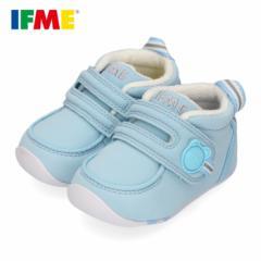 イフミー ベビー IFME FIRST SHOES シューズ 22-9001 BLUE ブルー 靴 赤ちゃん ベルクロ