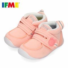 イフミー ベビー IFME FIRST SHOES シューズ 22-9001 PINK ピンク 靴 赤ちゃん ベルクロ