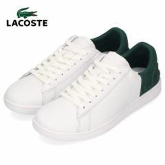 ラコステ レディース スニーカー LACOSTE CARNABY EVO 419 2 SFA0012-1R5 WHT/DK GRN ホワイト レザー 靴