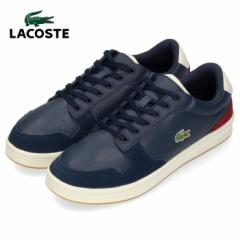 【BIGSALEクーポン対象】 ラコステ メンズ スニーカー LACOSTE MASTERS CUP 319 2 SMA0037-NOD NVY/OFF WHT/DK RED ネイビー レザー 靴
