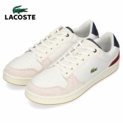 【BIGSALEクーポン対象】 ラコステ メンズ スニーカー LACOSTE MASTERS CUP 319 2 SMA0037-OND OFF WHT/NVY/DK RED ホワイト レザー 靴