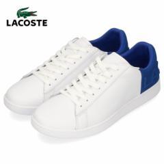 ラコステ メンズ スニーカー LACOSTE CARNABY EVO 419 2 SMA0044-080 WHT/BLU ホワイト レザー 靴