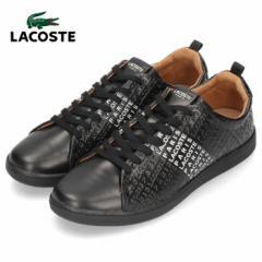 ラコステ メンズ スニーカー LACOSTE CARNABY EVO 319 12 US SMA0046-312 BLK/WHT ブラック レザー 靴