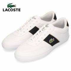 ラコステ メンズ スニーカー LACOSTE COURT MASTER 319 6 CMA0066-147 WHT/BLK ホワイト 靴