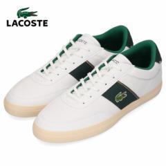 ラコステ メンズ スニーカー LACOSTE COURT MASTER 319 6 CMA0066-1R5 WHT/DK GRN ホワイト 靴
