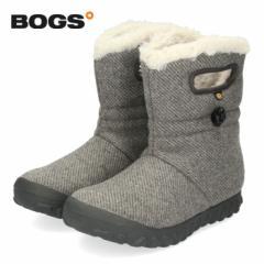 【還元祭クーポン対象】BOGS ボグス 靴 ブーツ レディース 72106 B-MOC WOOL スノーブーツ ショートブーツ 防水 防滑 保温 消臭 ボア ウ