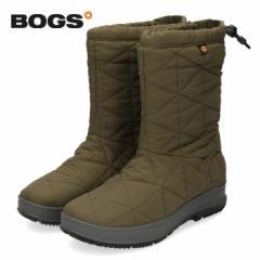 【還元祭クーポン対象】BOGS ボグス 靴 ブーツ レディース 72238 B-MOC WOOL スノーブーツ ミドルブーツ 防水 防滑 保温 キルト ボア