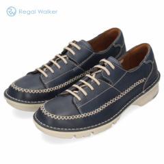 リーガルウォーカー メンズ REGAL WALKER 308WBJ 3E ネイビー カジュアルシューズ レースアップ 靴 本革