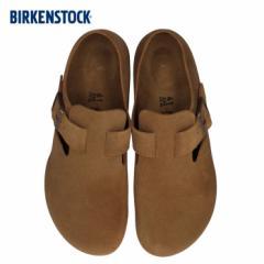【還元祭クーポン対象】ビルケンシュトック BIRKENSTOCK メンズ ロンドン London 1006237 幅狭 靴 スエード ダークブラウン 国内正規品