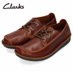 【還元祭クーポン対象】Clarks クラークス カジュアルシューズ メンズ 220J Trek Veldt トレックヴェルト レースアップ ラウンドトゥ 本
