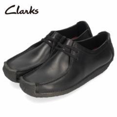 クラークス Clarks メンズ ナタリー Natalie 171J ブラック レザー カジュアル シューズ 革 靴