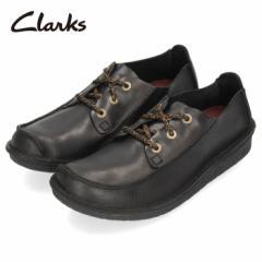 【還元祭クーポン対象】クラークス Clarks メンズ トレック ヴェルト Trek Veldt Tan 220J ブラック レザー カジュアル シューズ 革 靴