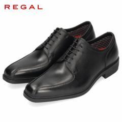 【BIGSALEクーポン対象】 REGAL リーガル 靴 メンズ 36VR BE GORE-TEX ゴアテックス 紳士靴 防水 本革 黒 スワールトゥ ビジネスシューズ