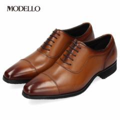 【BIGSALEクーポン対象】 マドラス モデロ madras MODELLO DM8601 ライトブラウン メンズ フォーマル ビジネスシューズ ストレートチップ