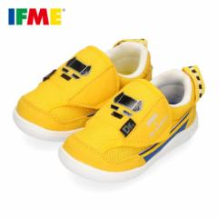IFME イフミー 子供靴 スニーカー キッズ 男の子 22-0100 IFME×Shinkansen 新幹線 ドクターイエロー ギフト イエロー