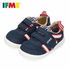 IFME イフミー 子供靴 スニーカー キッズ 男の子 女の子 22-0102 IFME Light イフミーライト ベルクロ 軽量 ネイビー
