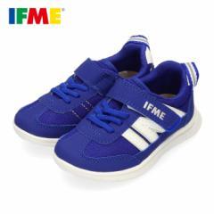 スニーカー イフミー キッズ IFME Light シューズ 22-0109 BLUE ブルー ジュニア 子供靴 ベルクロ 軽量