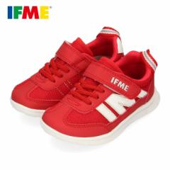 スニーカー イフミー キッズ IFME Light シューズ 22-0109 RED レッド 子供靴 ベルクロ 軽量