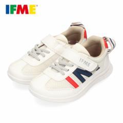 スニーカー イフミー キッズ IFME Light シューズ 22-0109 WHITE ホワイト 子供靴 ベルクロ 軽量