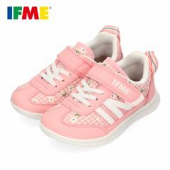 スニーカー イフミー キッズ IFME Light シューズ 22-0109 PINK ピンク ジュニア 子供靴 ベルクロ 軽量