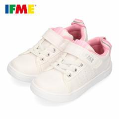 スニーカー イフミー キッズ IFME SAESON TREND シューズ 22-0110 PINK ピンク ジュニア 子供靴 ベルクロ 軽量