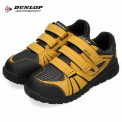 【BIGSALEクーポン対象】 ダンロップ モータースポーツ メンズ 安全靴 マグナムST 306 イエロー スニーカー DUNLOP MOTORSPORT 4E 黄色