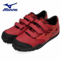 【BIGSALEクーポン対象】 ミズノ MIZUNO 安全靴 ワーキングシューズ 男性 メンズ F1GA1901 63 オールマイティ ALMIGHTY TD22L 赤 レッド