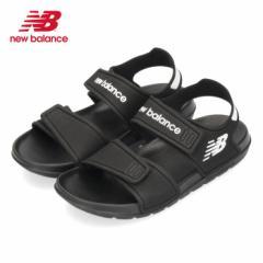 ニューバランス new balance キッズ ジュニア サンダル YOSPSD BK ブラック 21441 黒