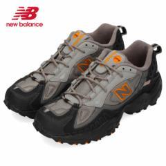 【BIGSALEクーポン対象】 ニューバランス メンズ スニーカー new balance ML703 BA ブラック オレンジ ワイズD トレイルランニング シュ