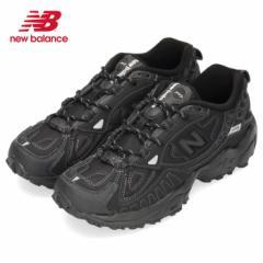 【BIGSALEクーポン対象】 ニューバランス メンズ スニーカー new balance ML703 BC ブラック ワイズD トレイルランニング シューズ 黒