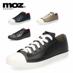 【BIGSALEクーポン対象】 moz モズ レインシューズ レディース おしゃれ 防水 撥水 8416 スニーカー ローカット 歩きやすい 紐靴 雨靴